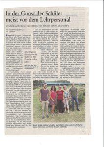 Schulsozialarbeit in der Rhein-Zeitung