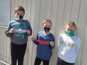 Wir haben den Bedarf erkannt - wir nähen Kinderschutzmasken!