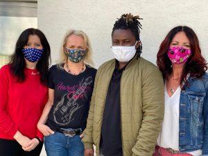 Ab sofort - wir produzieren Masken...